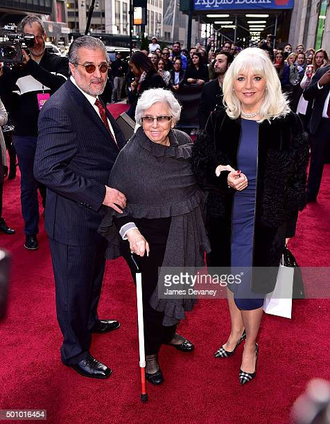 Lady Gaga's parents Joe Germanotta and Cynthia Germanotta arrive to Billboard's 10th Annual Women In Music at Cipriani 42nd Street on December 11...