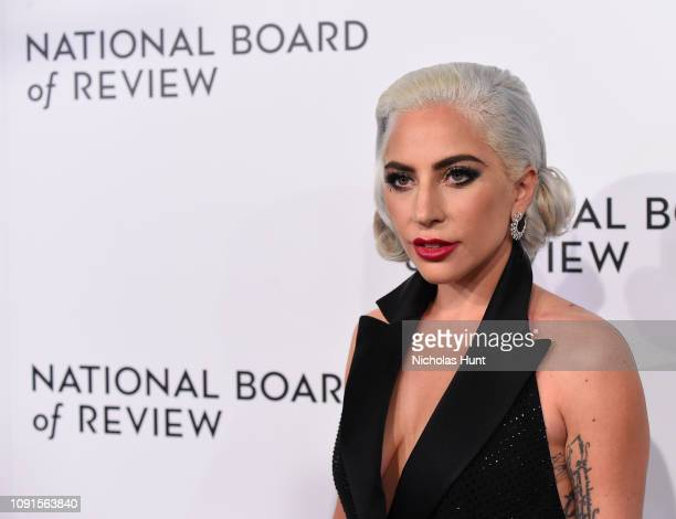 Lady Goga attends the 2019 National Board Of Review Gala at Cipriani 42nd Street on January 08 2019 in New York City