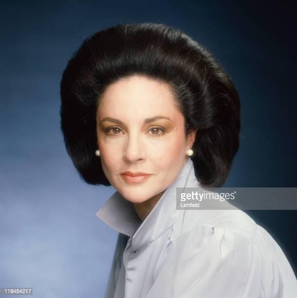 Lady Harlech Formerly Pamela Colin Editor of British Vogue 15th January 1982