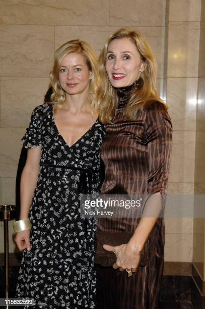 Lady Helen Taylor and Allegra Hicks during 2005 Lancome Colour Design Awards Inside at Freemason's Hall in London Great Britain