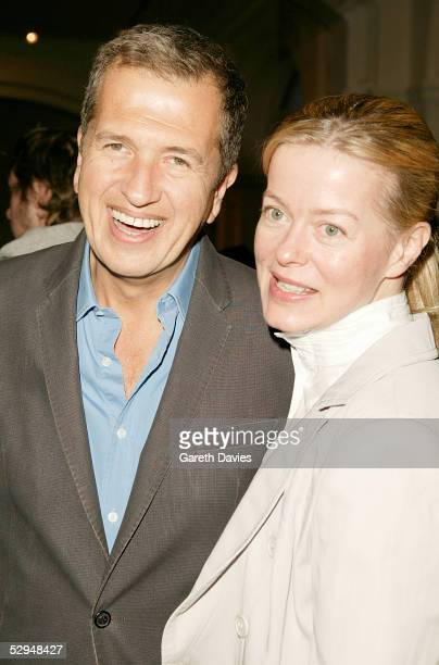 Lady Helen Taylor and Mario Testino attend the opening of Photo London at The Royal Academy May 18 2005 in London The exhibition takes a look at...