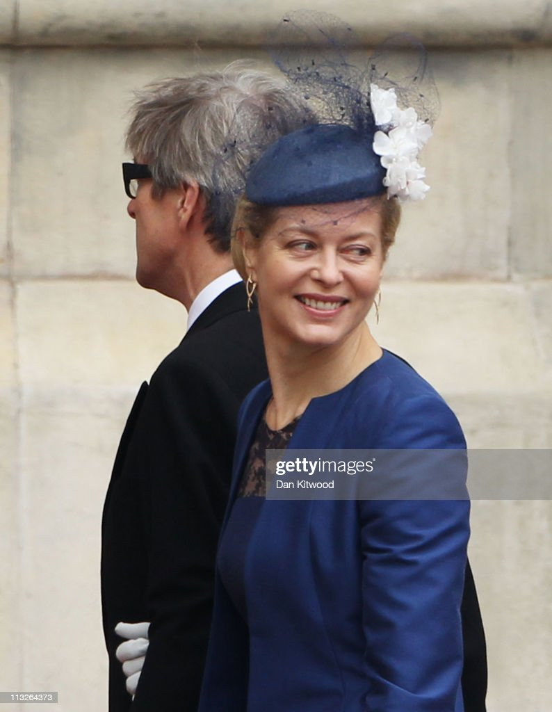 Royal Wedding - Wedding Guests And Party Make Their Way To Westminster Abbey : News Photo