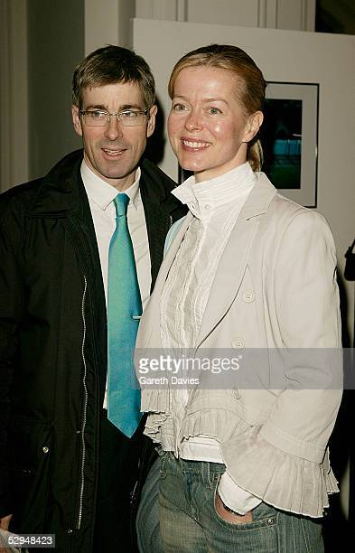 Lady Helen Taylor and Tim Taylor attend the opening of Photo London at The Royal Academy May 18 2005 in London The exhibition takes a look at classic...