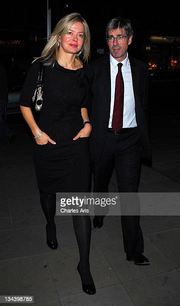 Lady Helen Taylor and Tim Taylor attend the Vogue/Bulgari Charity Reception at The Saatchi Gallery on October 13 2009 in London England