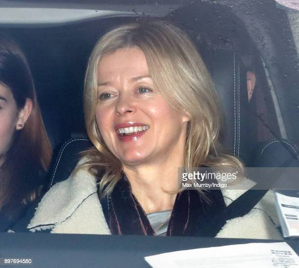 Lady Helen Taylor attends a Christmas lunch for members of the Royal Family hosted by Queen Elizabeth II at Buckingham Palace on December 20 2017 in...