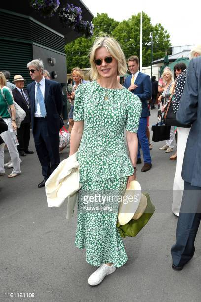 Lady Helen Taylor attends day 9 of the Wimbledon Tennis Championships at All England Lawn Tennis and Croquet Club on July 10 2019 in London England