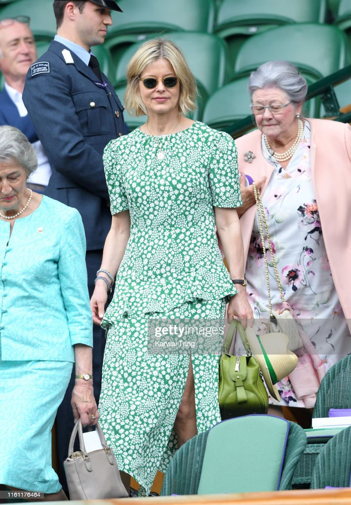 Celebrities Attend Wimbledon 2019 : Photo d'actualité