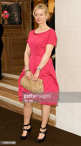 Lady Helen Taylor attends the launch of the Louis Vuitton Bond Street Maison on May 25 2010 in London England