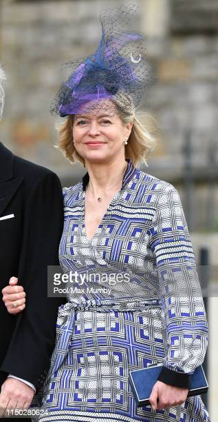 Lady Helen Taylor attends the wedding of Lady Gabriella Windsor and Thomas Kingston at St George's Chapel on May 18 2019 in Windsor England