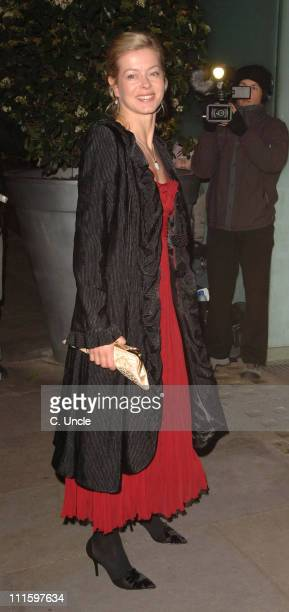 Lady Helen Taylor during 2007 Burns Night Party Arrivals at St Martins Lane Hotel in London Great Britain