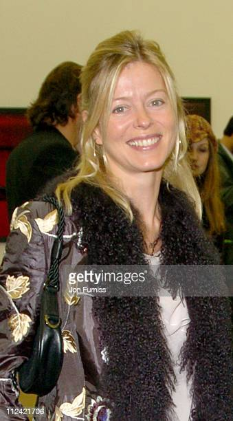 Lady Helen Taylor during Art Frieze Exhibition at Regents Park in London Great Britain
