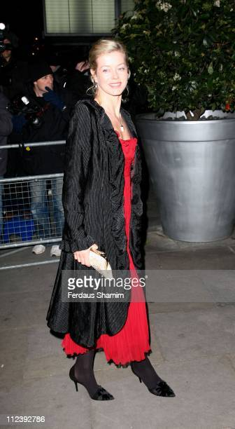 Lady Helen Taylor during Burns Night Party Outside Arrivals at St Martins Lane Hotel in London Great Britain