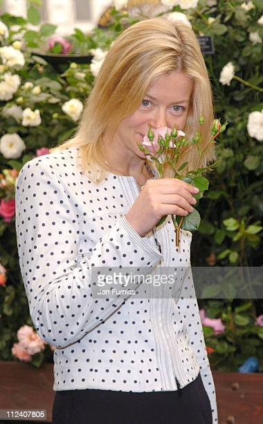 Lady Helen Taylor during RHS Chelsea Flower Show 2004 at Royal Hospital, Chelsea in London, Great Britain.