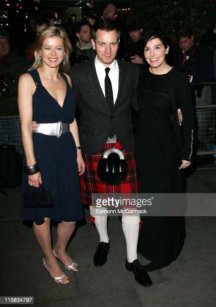 Lady Helen Taylor Ewan McGregor and Sharleen Spiteri host 'Not Another Burns Night Party' at St Martins Hotel on March 03 2008 in London England