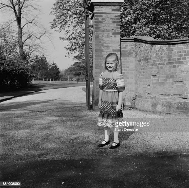 Lady Helen Taylor on her 7th birthday UK 28th April 1971