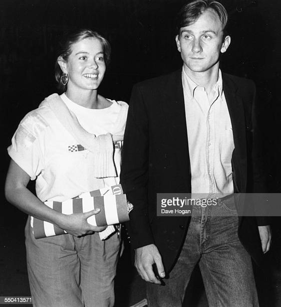 Lady Helen Windsor and David Flint Wood attending a Bruce Springsteen concert at Wembley Stadium London July 4th 1985