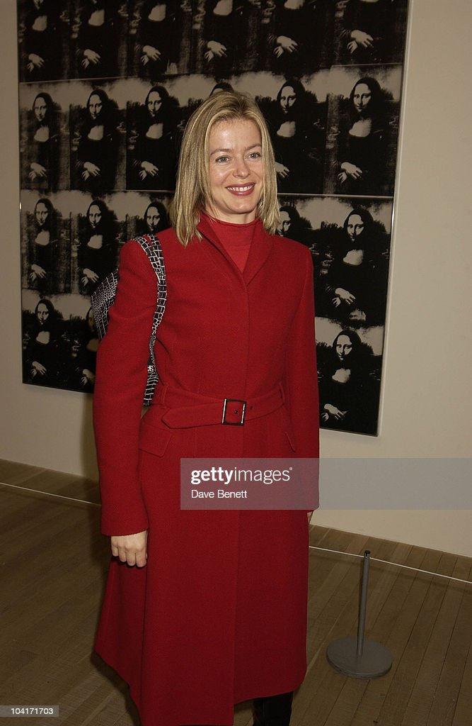 Lady Helen Windsor, The Andy Warhol Exhibition At The Tate Modern Art Gallery, London