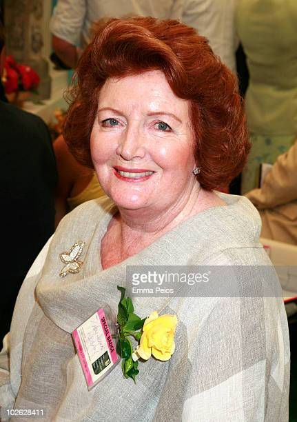 Lady Helen Wogan attends the press preview at the Hampton Court Palace Flower Show at Hampton Court Palace on July 5 2010 in East Molesey Surrey...