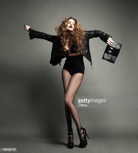 Lady en negro