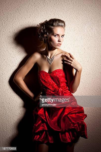 Lady em vermelho