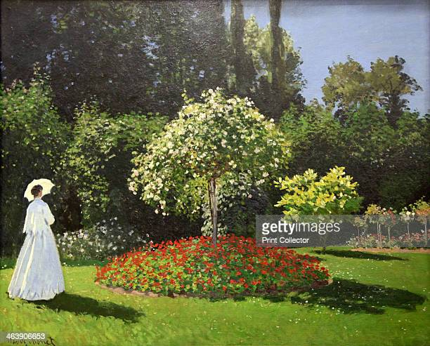 'Lady in the Garden' 1867 Detail Found in the collection of The Hermitage St Petersburg