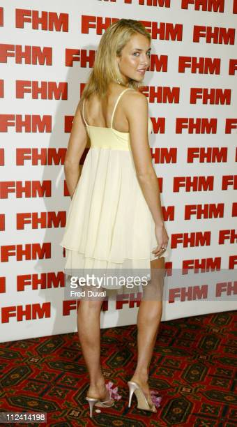 Lady Isabella Hervey during FHM Top 100 Sexiest Women 2004 at Guild Hall in London Great Britain