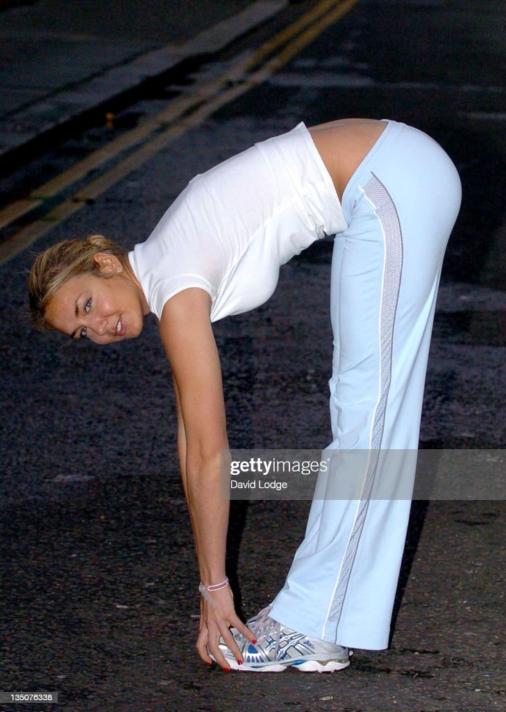 """Lady Isabella Hervey Promotes """"Isabella's Power Workout"""" DVD at KX GYM in"""
