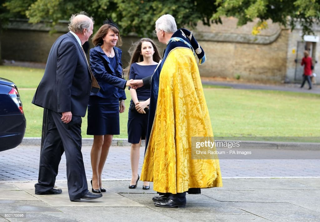 discount cheapest the sale of shoes Lady Jane Cecil arrives at Ely Cathedral, Cambridgeshire for ...