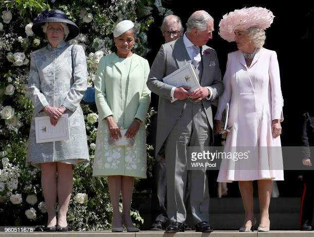 Lady Jane Fellowes Doria Ragland Prince Charles Prince of Wales Camilla Duchess of Cornwall Prince George of Cambridge Prince William Duke of...