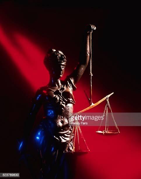 Lady Justice Holding Balances