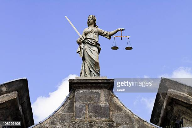 lady justice - legislation stock photos and pictures