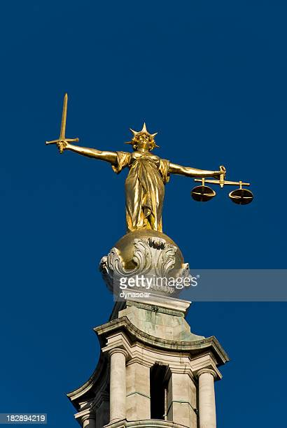 Lady Justice, the Old Bailey London