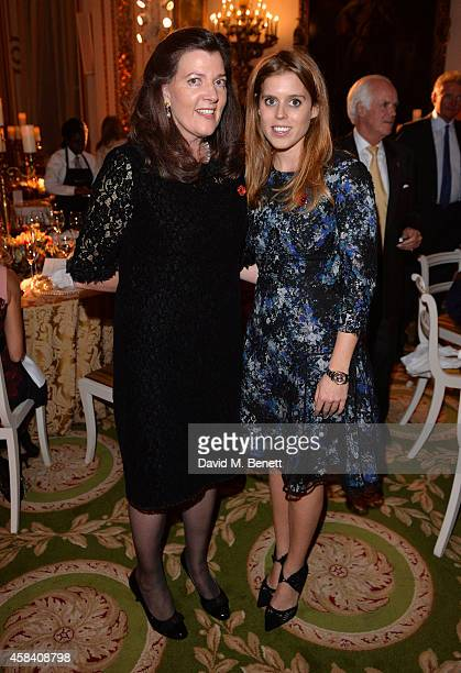 Lady Katherine Colquhoun and HRH Princess Beatrice attend the Bell Pottinger Charity Dinner hosted for Northwood African Education Foundation at...