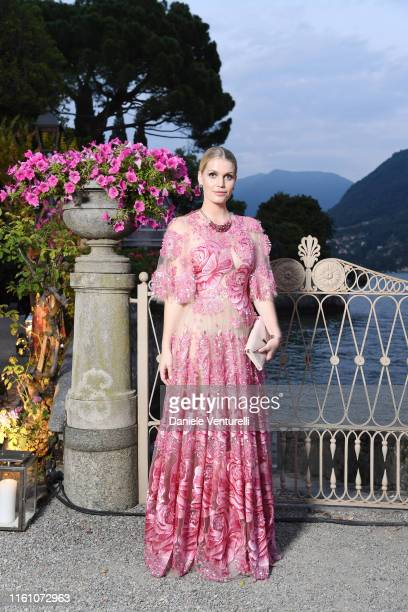 Lady Kitty Eleanor Spencer attends Bvlgari Splendida Tubereuse Mystique Event on July 09 2019 in Cernobbio Como Lake Italy