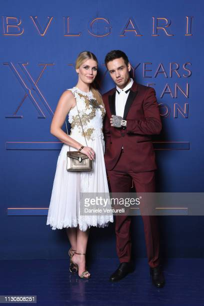 Lady Kitty Spencer and Liam Payne attend the Bvlgari BZERO1 XX Anniversary Global Launch Event at Auditorium Parco Della Musica on February 19 2019...