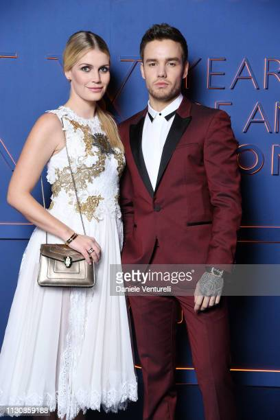 Lady Kitty Spencer and Liam Payne attends the Bvlgari BZERO1 XX Anniversary Global Launch Event at Auditorium Parco Della Musica on February 19 2019...