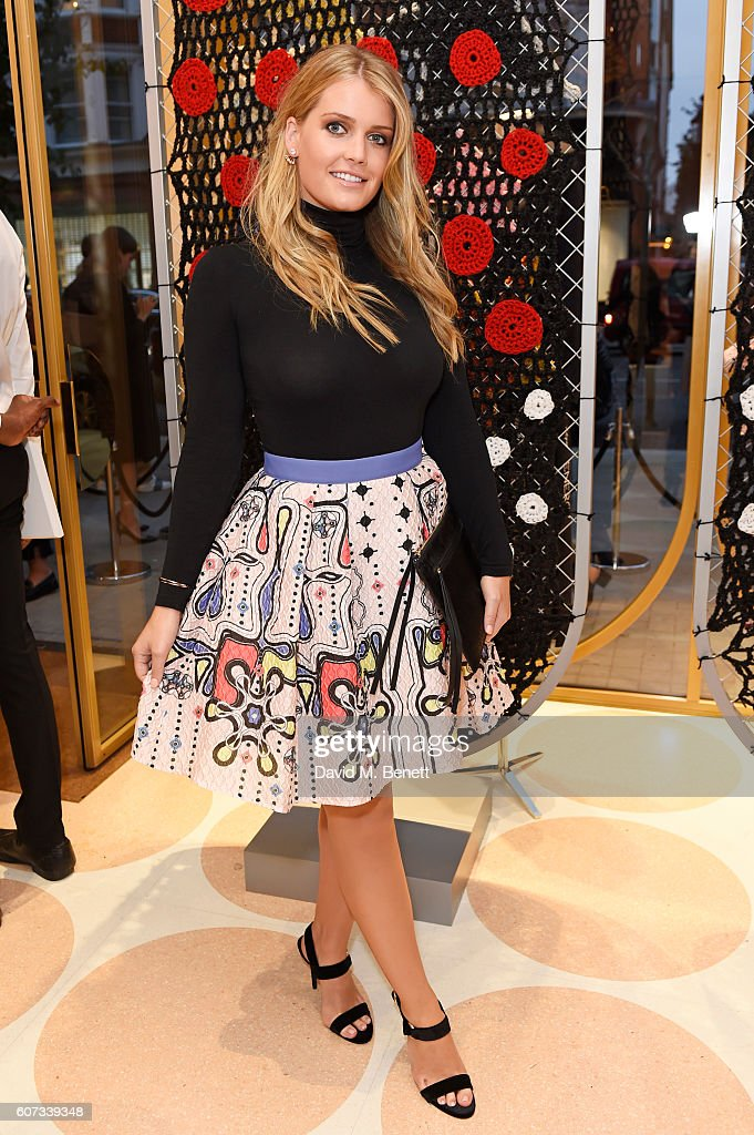 Lady Kitty Spencer attends as RED Valentino celebrates the