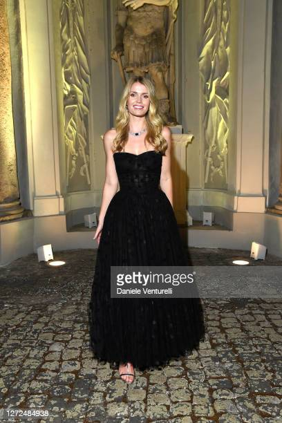 Lady Kitty Spencer attends Bulgari Barocco on September 14, 2020 in Rome, Italy.