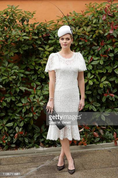 Lady Kitty Spencer attends day 1 of Royal Ascot at Ascot Racecourse on June 18, 2019 in Ascot, England.