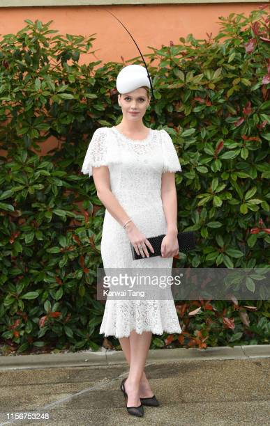 Lady Kitty Spencer attends day one of Royal Ascot at Ascot Racecourse on June 18 2019 in Ascot England
