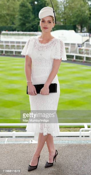 Lady Kitty Spencer attends day one of Royal Ascot at Ascot Racecourse on June 18, 2019 in Ascot, England.
