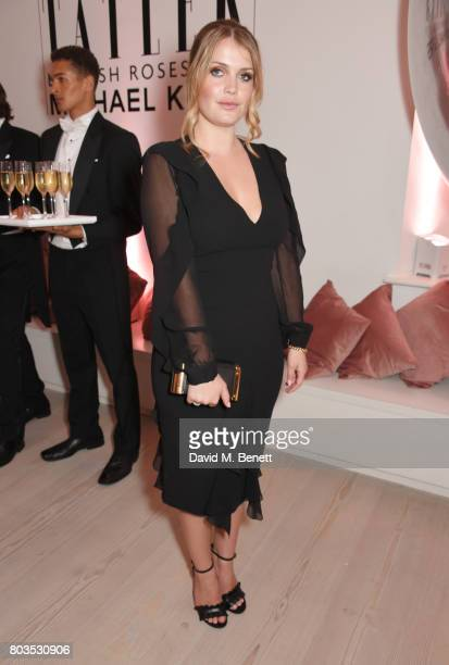 Lady Kitty Spencer attends Tatler's English Roses 2017 in association with Michael Kors at the Saatchi Gallery on June 29 2017 in London England