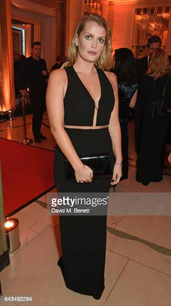 Lady Kitty Spencer attends the annual BFI Chairman's Dinner honouring Peter Morgan with the BFI Fellowship at Claridge's Hotel on February 21 2017 in...