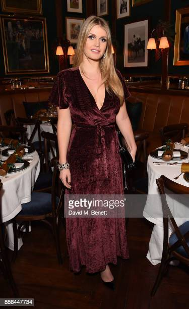 Lady Kitty Spencer attends the Polo Bear Holiday Dinner hosted by Polo Ralph Lauren and Alexandra Richards at Ralph's Coffee Bar on December 5 2017...