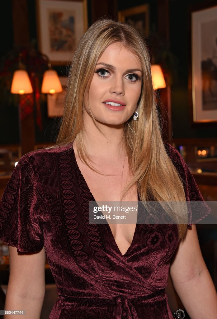 Lady Kitty Spencer attends the Polo Bear Holiday Dinner hosted by Polo  Ralph Lauren and Alexandra