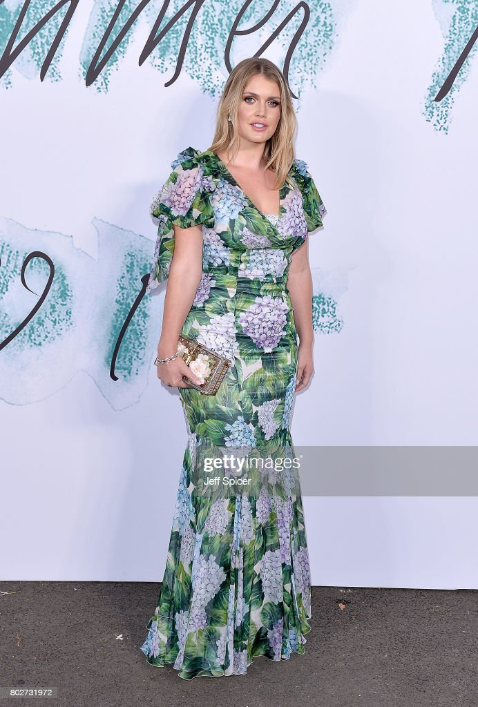 Lady Kitty Spencer attends The Serpentine Galleries Summer Party at The Serpentine Gallery on June 28, 2017 in London, England.