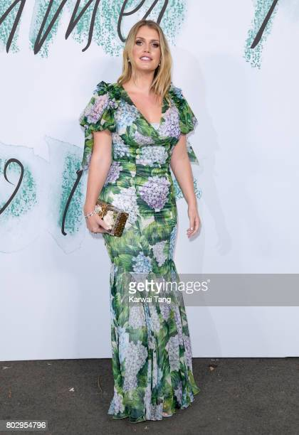 Lady Kitty Spencer attends The Serpentine Gallery Summer Party at The Serpentine Gallery on June 28 2017 in London England