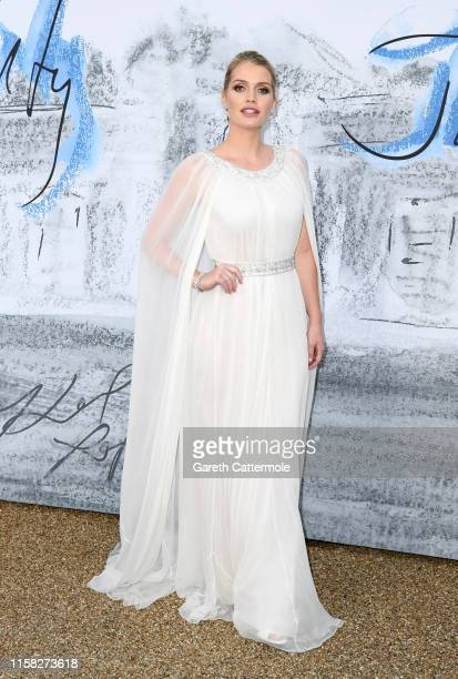 Lady Kitty Spencer attends The Summer Party 2019 Presented By Serpentine Galleries And Chanel at The Serpentine Gallery on June 25 2019 in London...