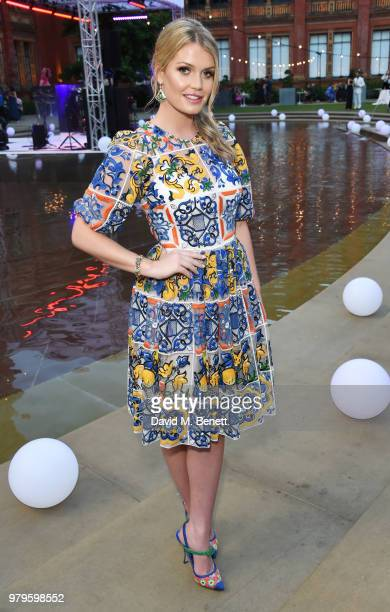 Lady Kitty Spencer attends the Summer Party at the VA in partnership with Harrods at the Victoria and Albert Museum on June 20 2018 in London England