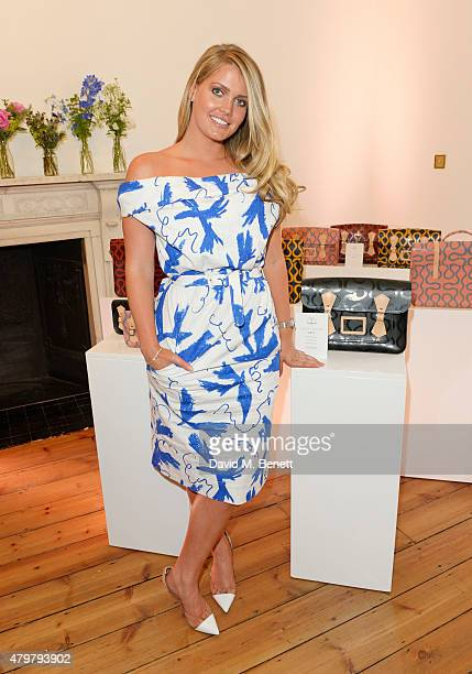 Lady Kitty Spencer attends the Vivienne Westwood X The Cambridge Satchel Company collaboration launch party at One Horse Guards on July 7 2015 in...